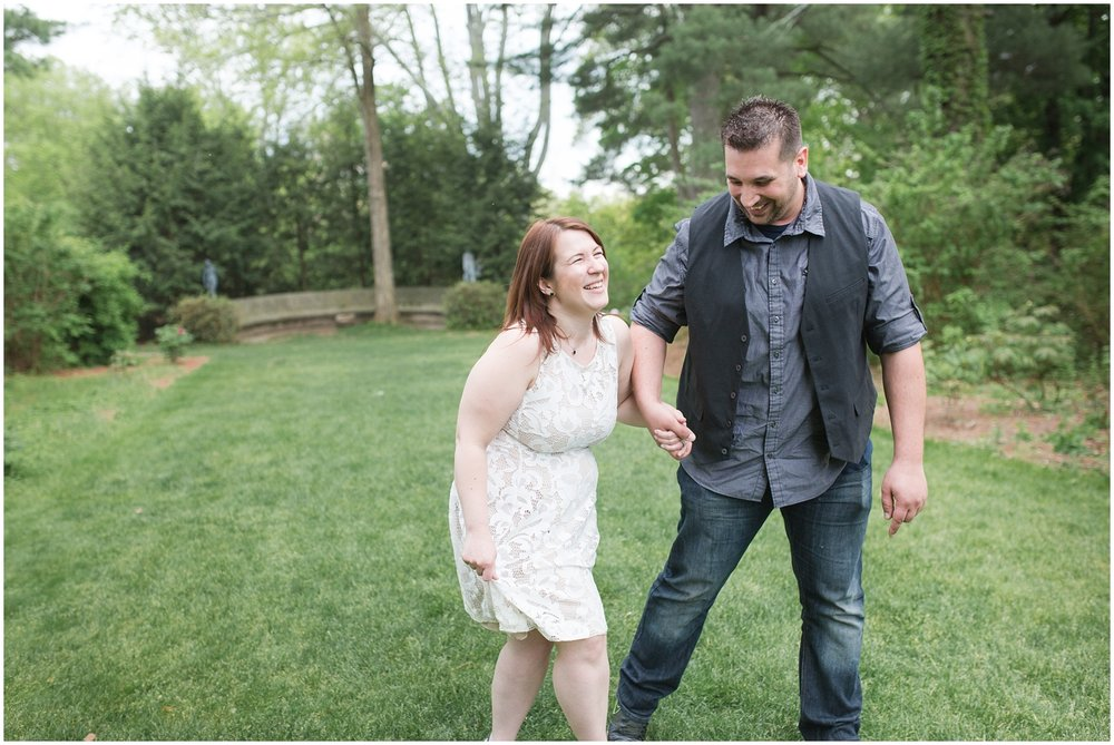 Skylands Manor Engagement Photographer