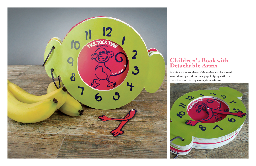Tick Tock Time Children's Book � i am ashley melton