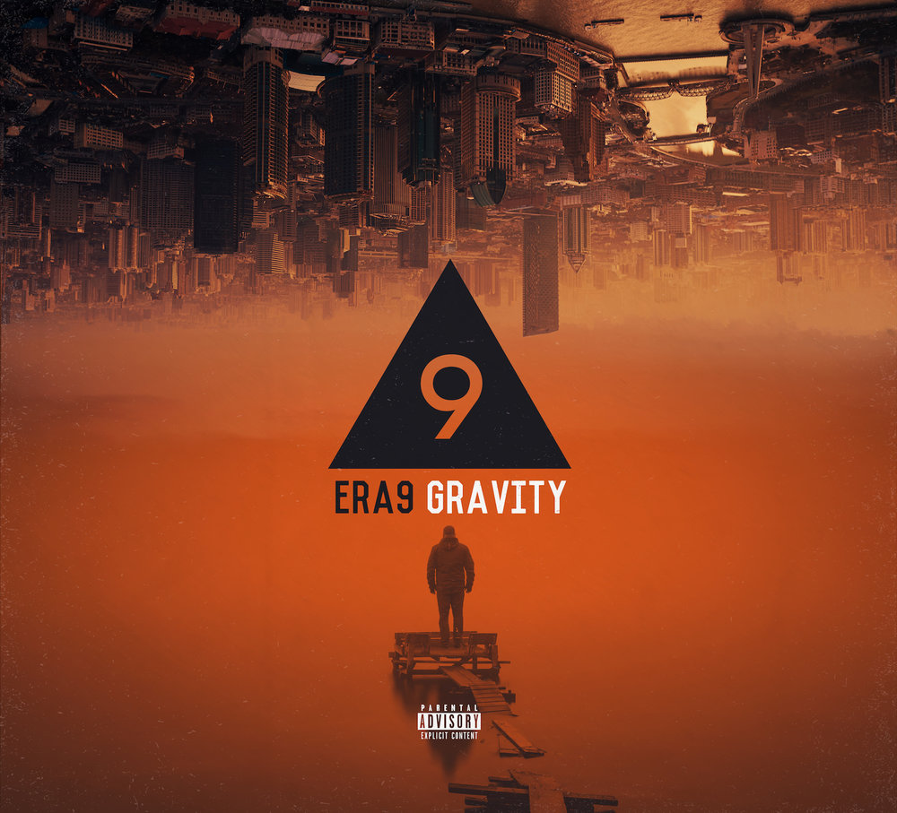 "Full Length Album - ERA 9's full length album 'Gravity' is a musical portrayal of the risks we took, ignoring genre formats and flipping the world of music as we knew it. We do not discriminate toward any musical genre, but feel an attraction towards uniting them and this mindset has given us the creative freedom for eclectic songwriting, inspiring us to think outside the box.  This album depicts our emotions, struggles and life experiences, which are the tales that shaped our open minds. Hear ""Trap Rock"" on record for the first, conceived through ""Gravity""."