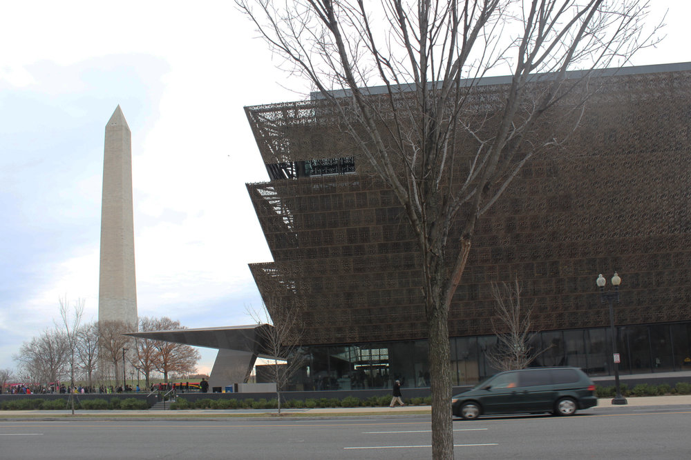 The National Museum of African American History.  Photo by: B. Clzianoski of EN Architects