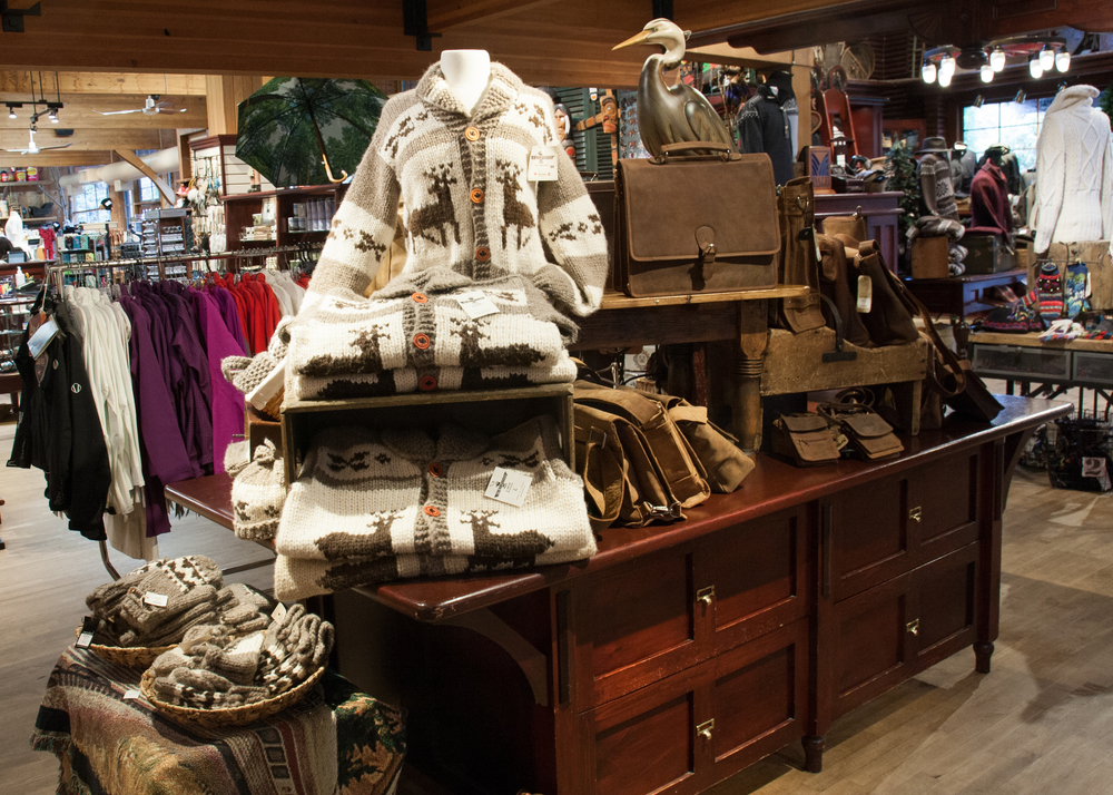 The gift shop at the Capilano Suspension Bridge. Photo: Jennifer Eliuk
