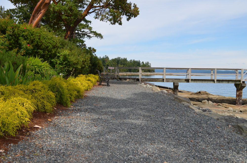 Vancouver Island walking path