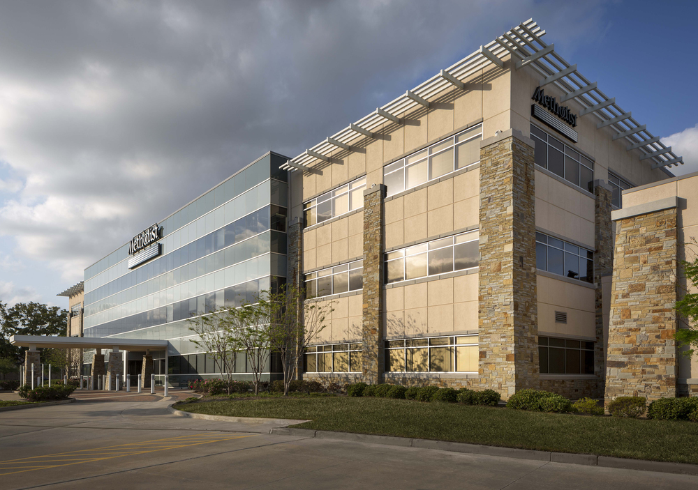 "Three story, 81,073 SF medical office building with class ""A"" interior finishes purchased by Methodist   Hospital during the construction phase."