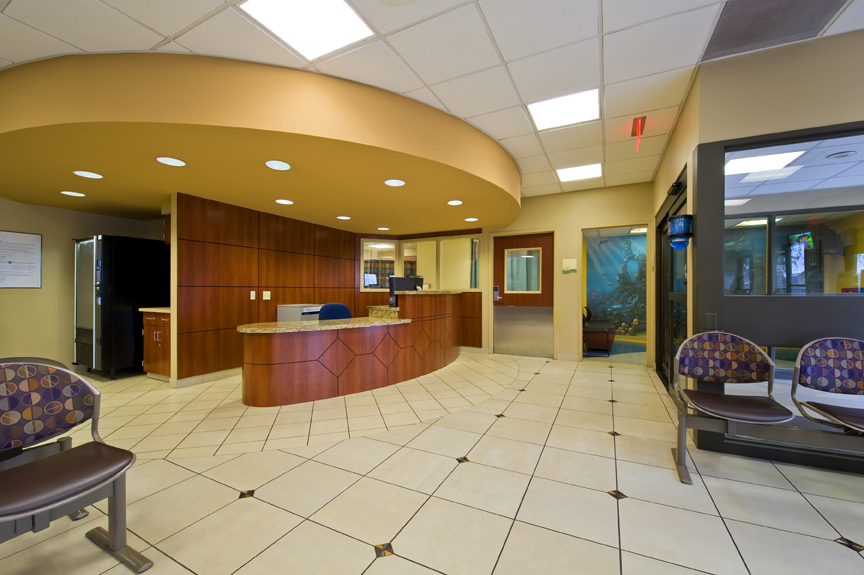 The Cypress Fairbanks Medical Center project was a multi-phased medical hospital   facility renovation. Over 25,000 SF of interior design renovations for   Medical/Surgical, Nursing, Outpatient Care and Emergency Room departments.