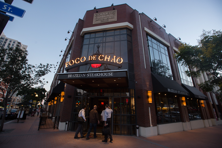 Fogo de Chao's newest West Coast location resides in the historic Gaslamp Quarter, perfectly situated to serve San Diegans and visitors as they enjoy the sights, sounds and festivals held in this exuberant district, home to some of the city's finest restaurants, pubs, nightclubs, retails shops, theaters & art galleries. Beautiful private and semi-private rooms accommodate group dining needs from business meetings and presentations to family events and celebrations.