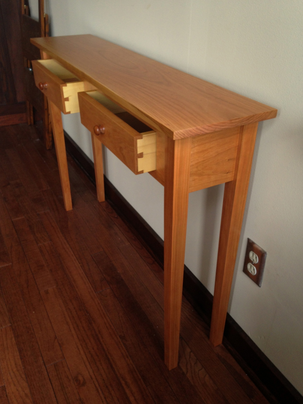 Shaker Sofa Table Dcw Woodworks
