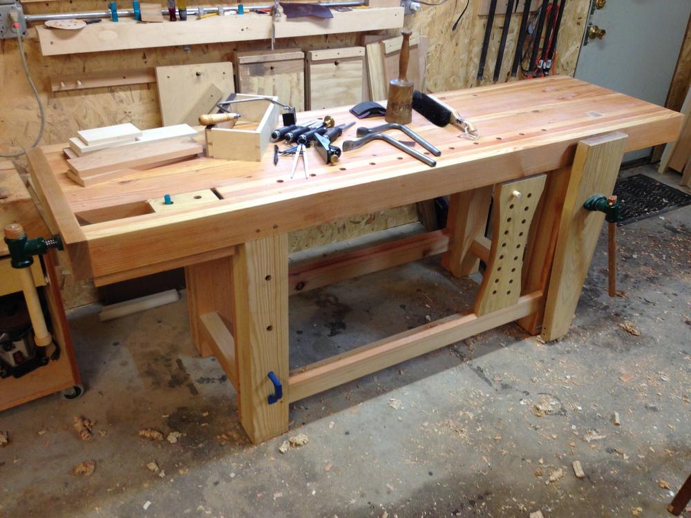 Roubo Workbench — DCW Woodworks