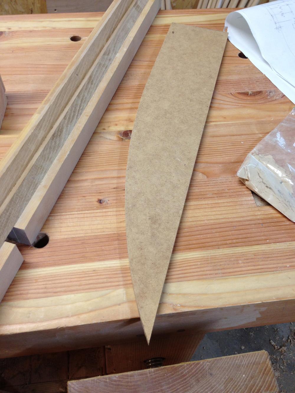 pedestal curve template