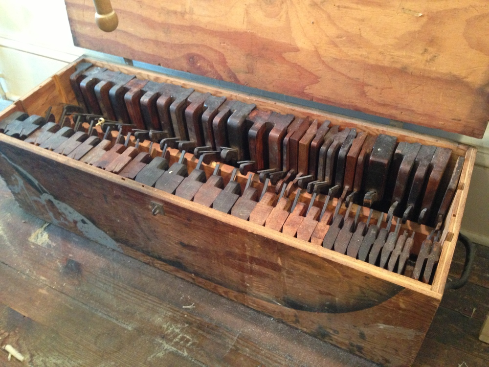 Roy's set of wooden joiner's planes