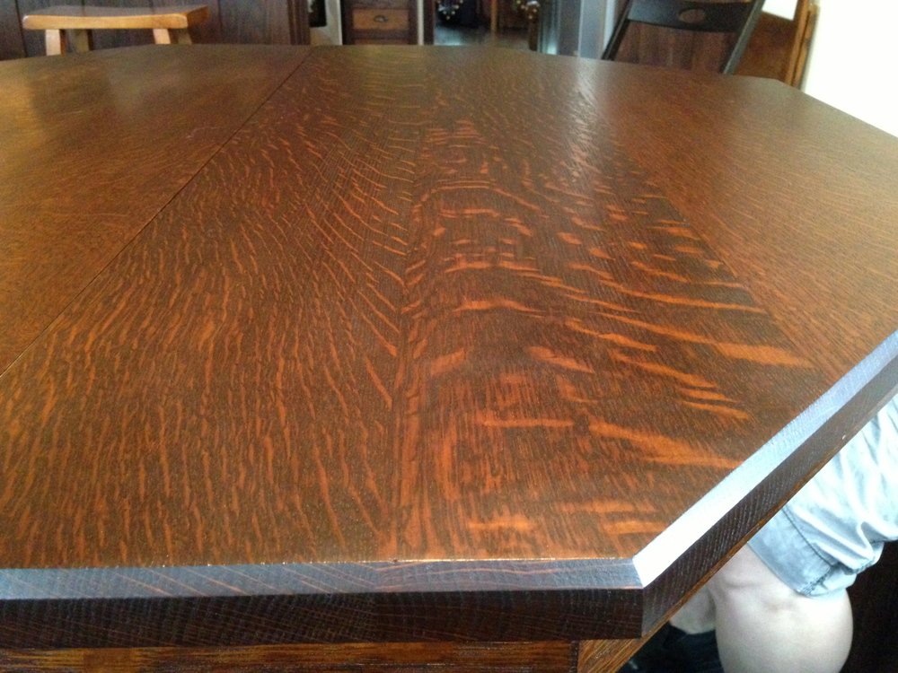 Mission Pedestal Table Dcw Woodworks