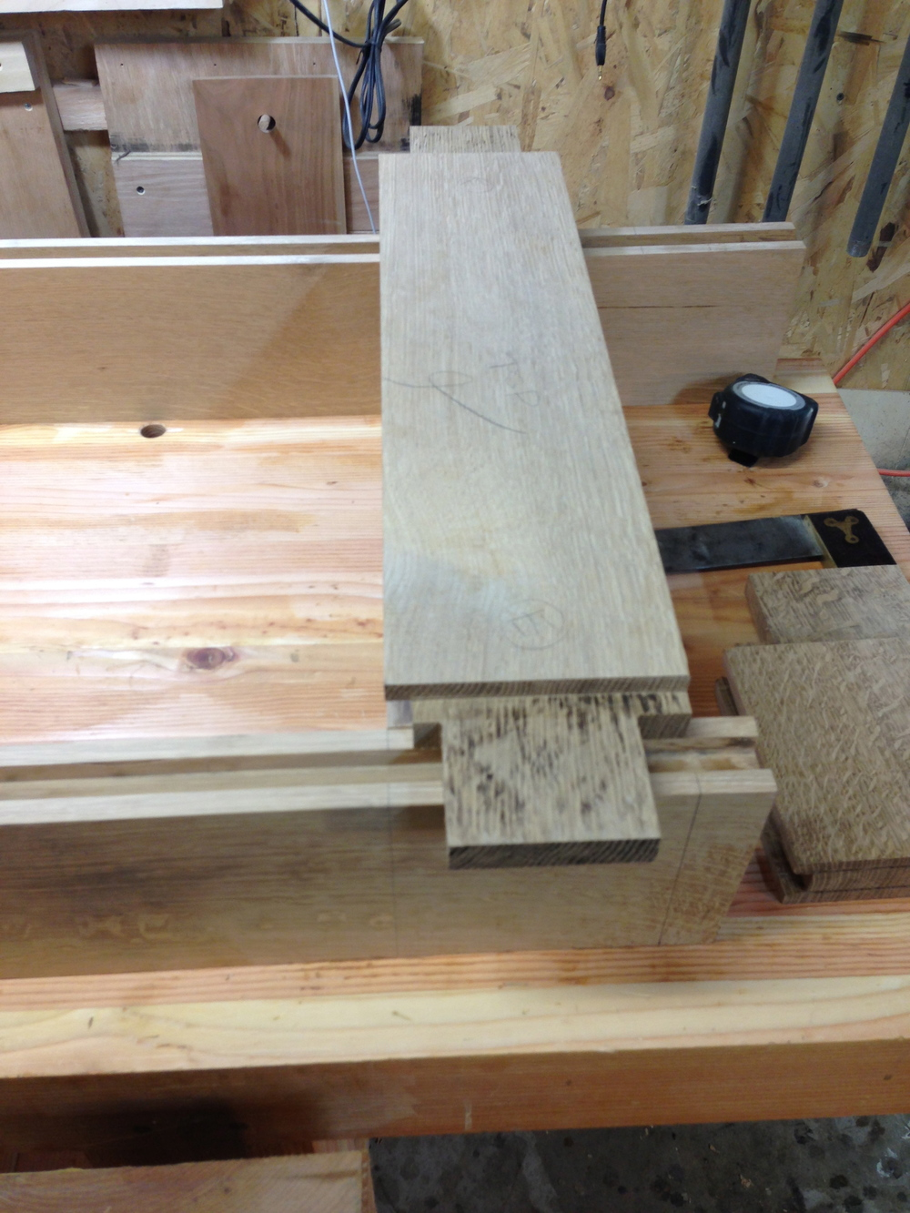 haunched tenons for the stiles