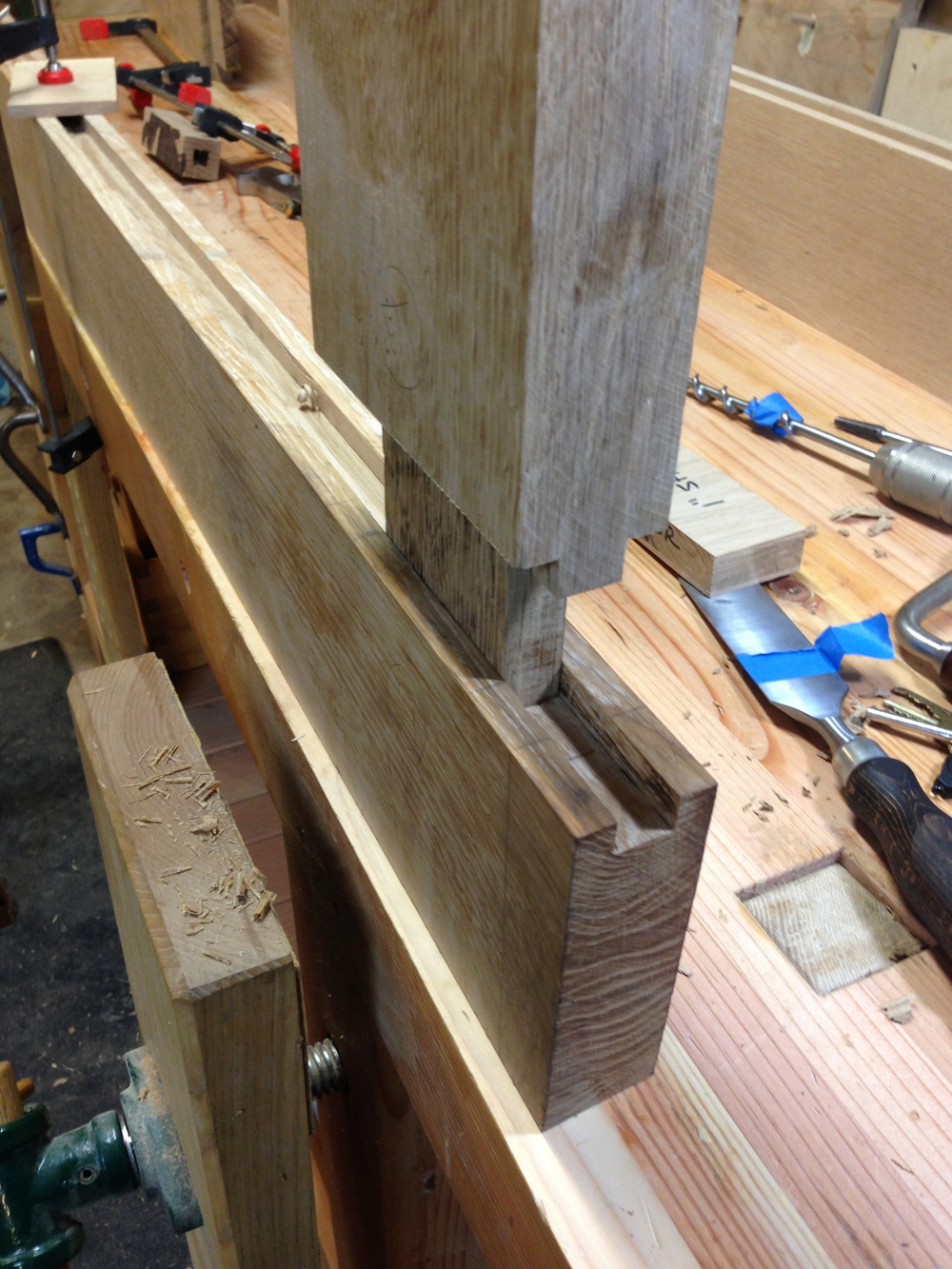 mortise & tenon test fit