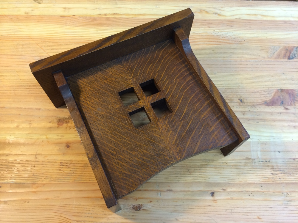 Beau This Was A Commission I Received To Make A Custom Sized Version Of My  Previous Doorbell Cover. Made From Quarter Sawn Red Oak. Finished With A  Tint Dye, ...