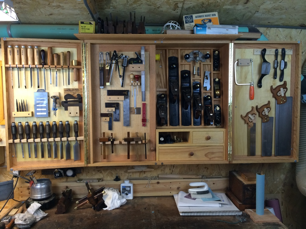 Original Hand Tool Cabinet  By DHS  LumberJockscom  Woodworking