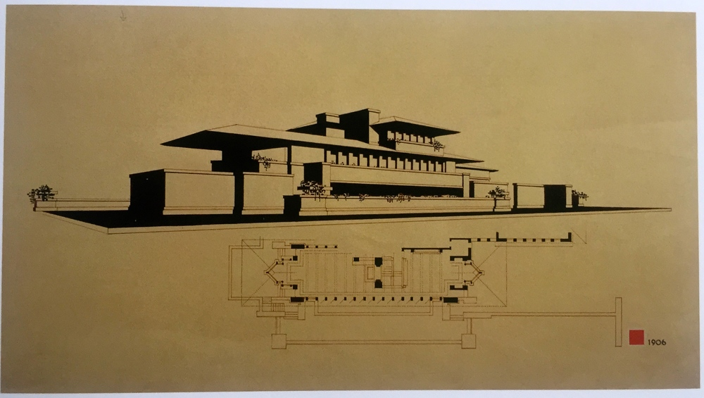 The Robie House And Red Oak