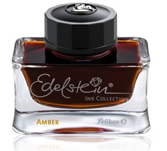 Pelikan Edelstein Amber, 2013's Ink of the Year, from Anderson Pens