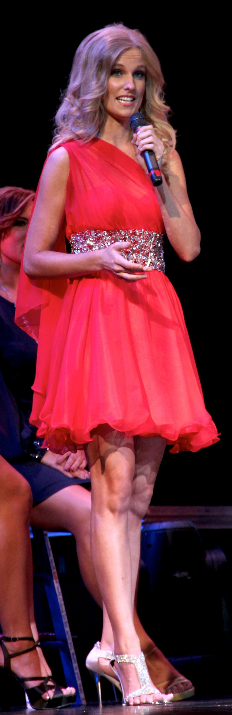Christie Roshau – Miss Arizona Competition, 2012.
