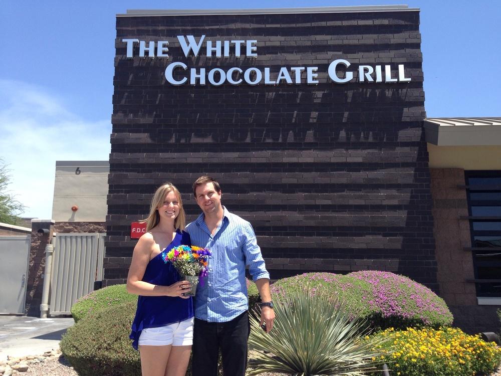 Birthday lunch with Bryan, May 26, 2014. Scottsdale, AZ.