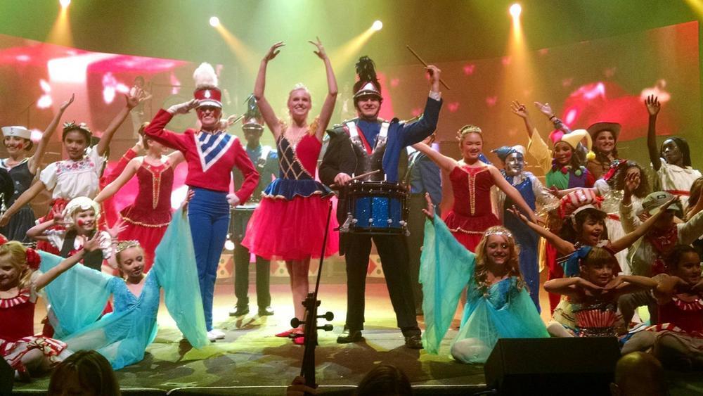 Celebration of Christmas, 2014 – Toy Scene Producer & Ballerina Drum Majorette