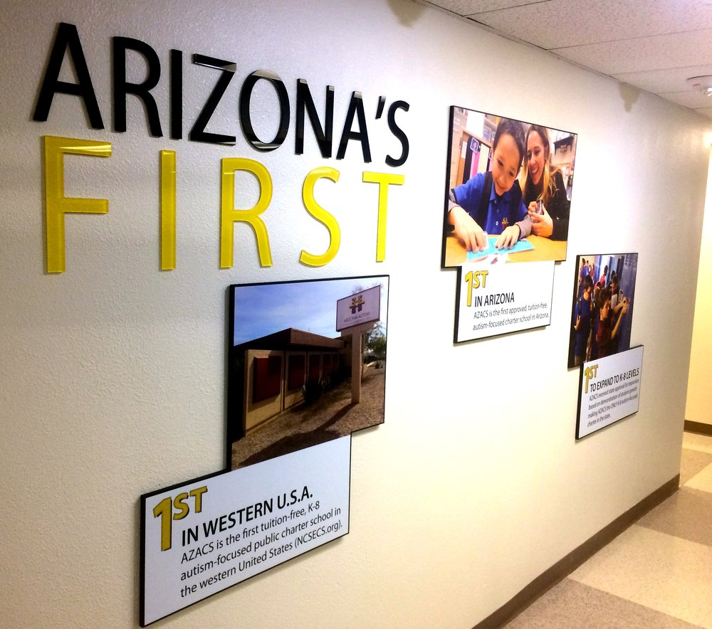 Arizona Autism Charter Schools, wall art design