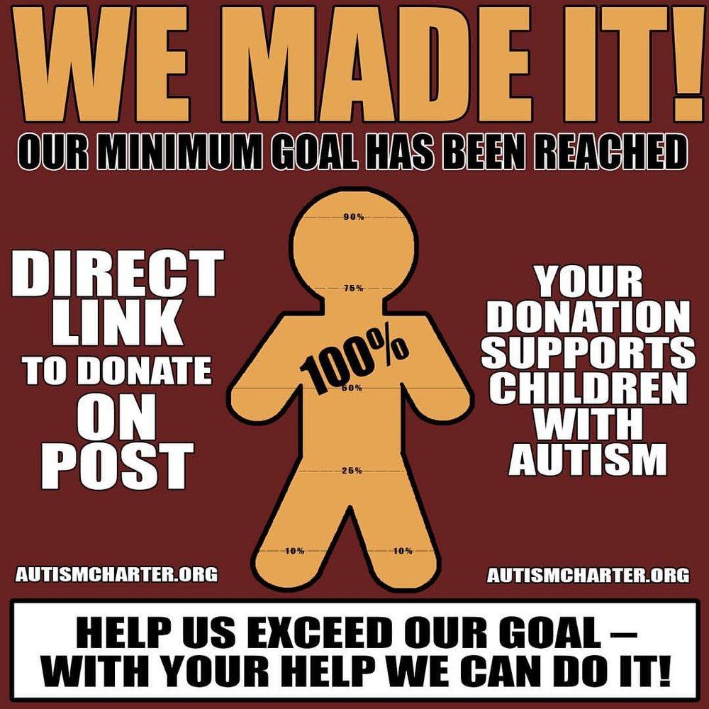 Arizona Autism Charter Schools, tax credit campaign (social media post)