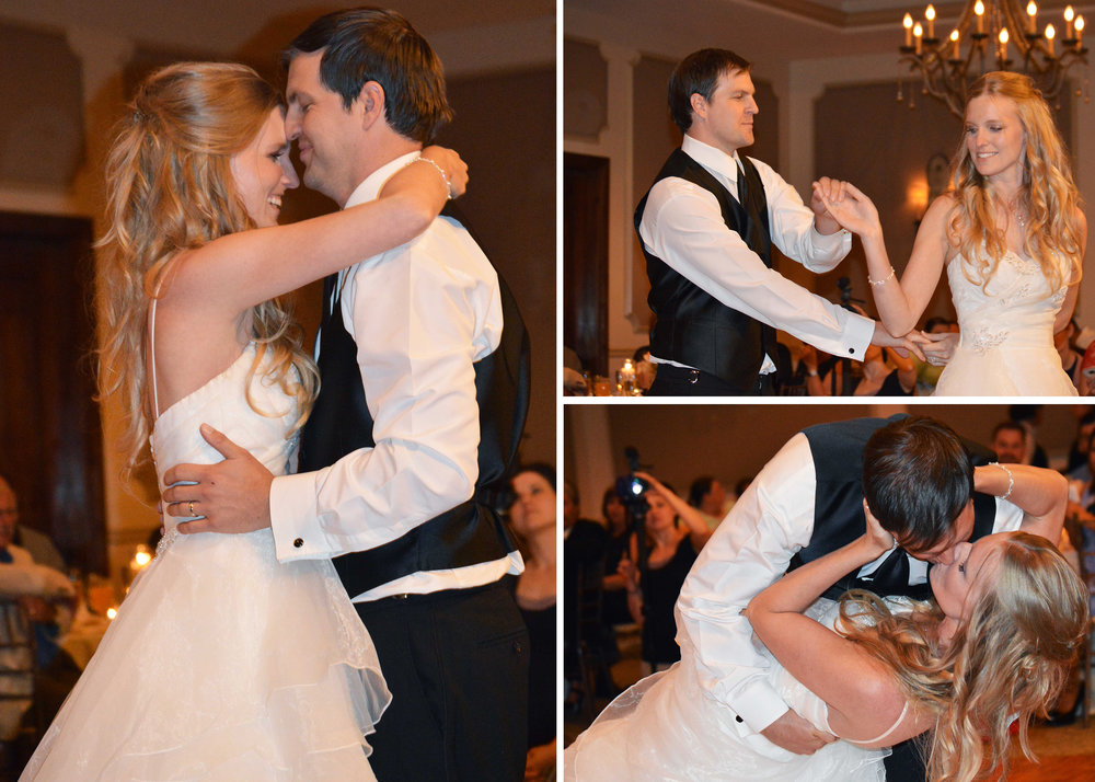 Our first dance... <3
