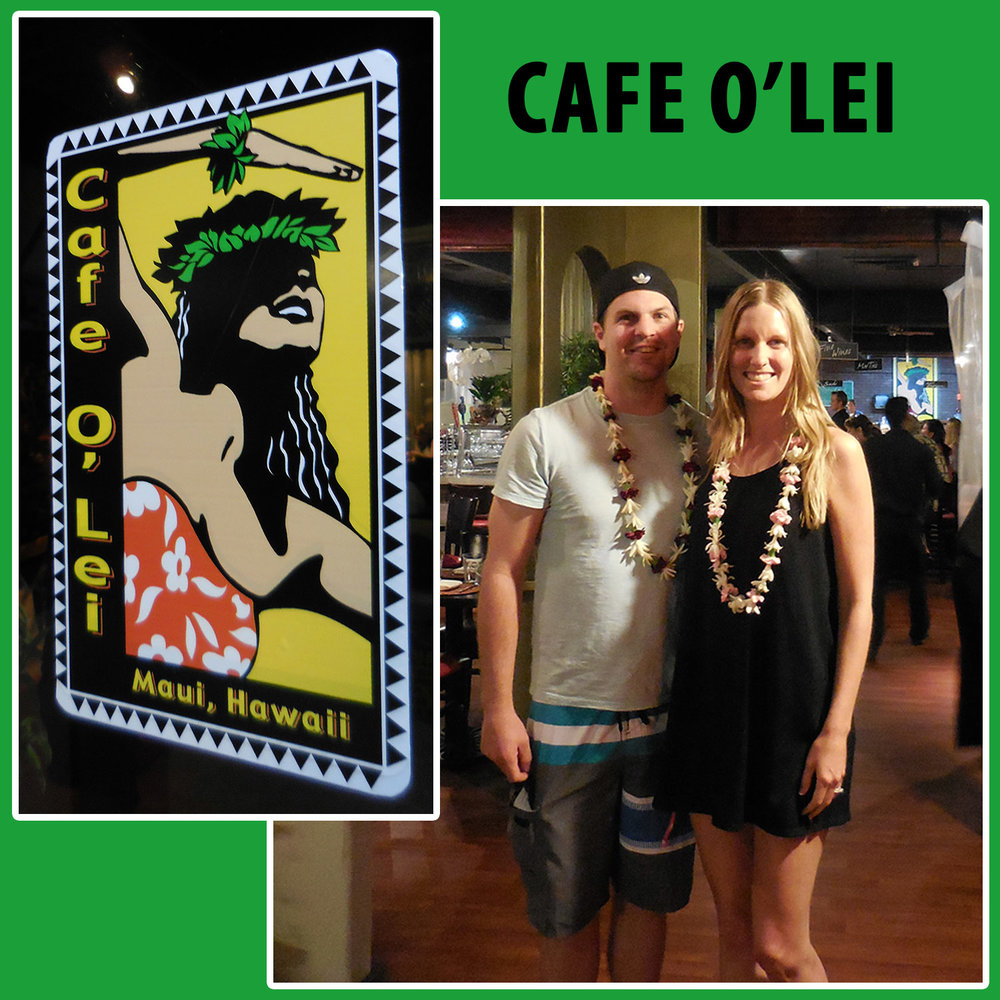 Our first restaurant we went to in Maui!