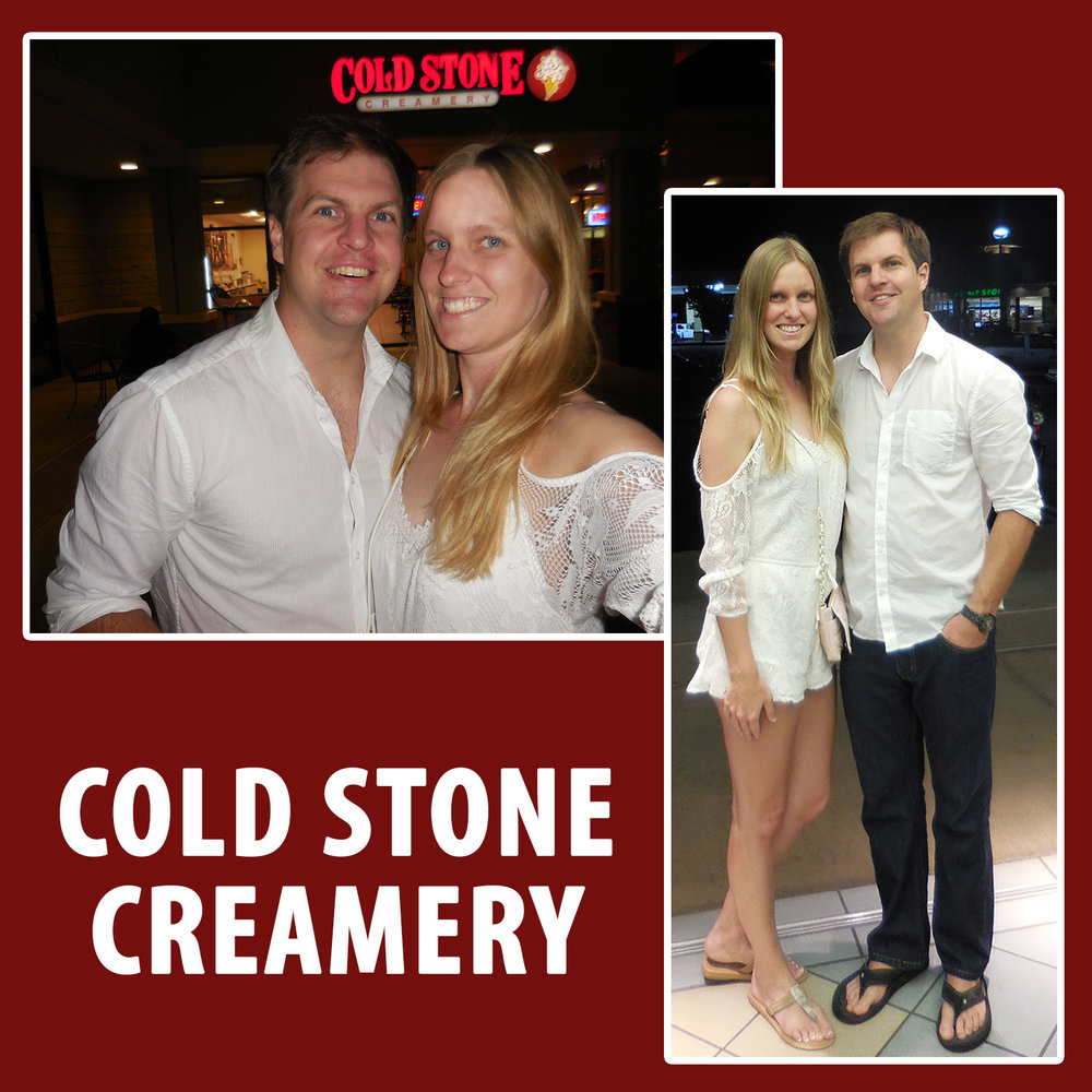 The last-standing Cold Stone in Maui...being the ice cream fanatic I am, I say it's a must-visit! :-)