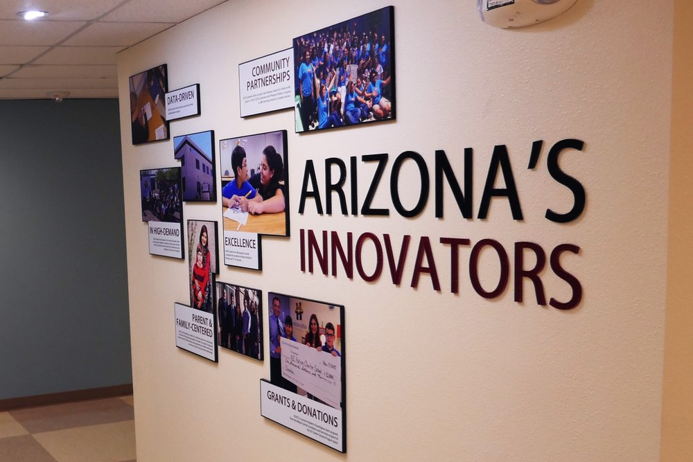 Arizona Innovators Signage - AZACS Upper School Campus Renovation 2016.jpg