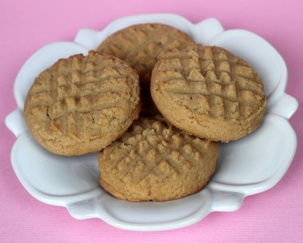 Mini Peanut Butter Cookies
