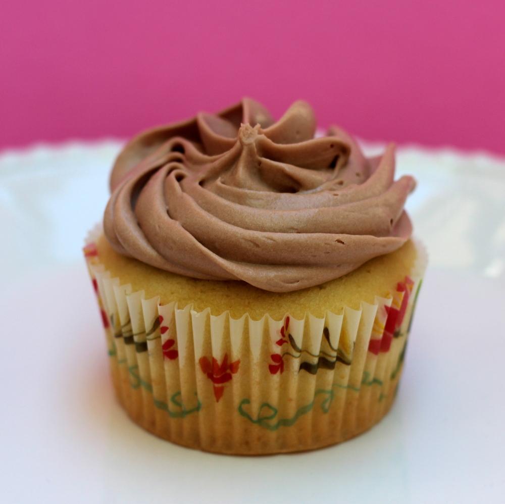 Pound Cake Cupcake