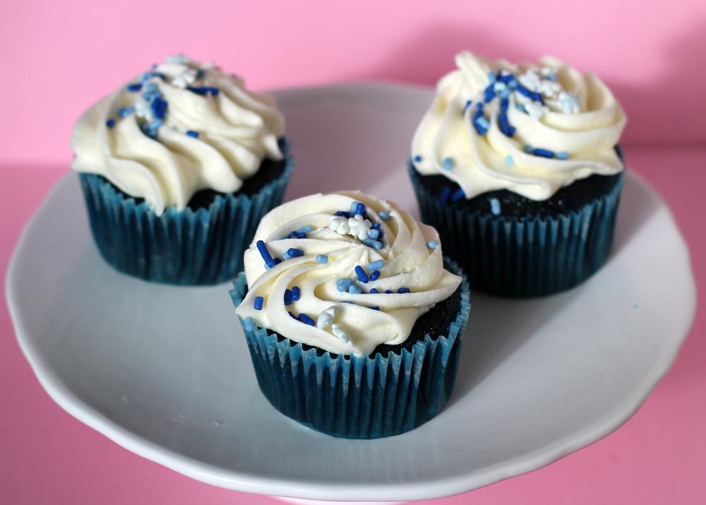 Blue Suede Cupcakes