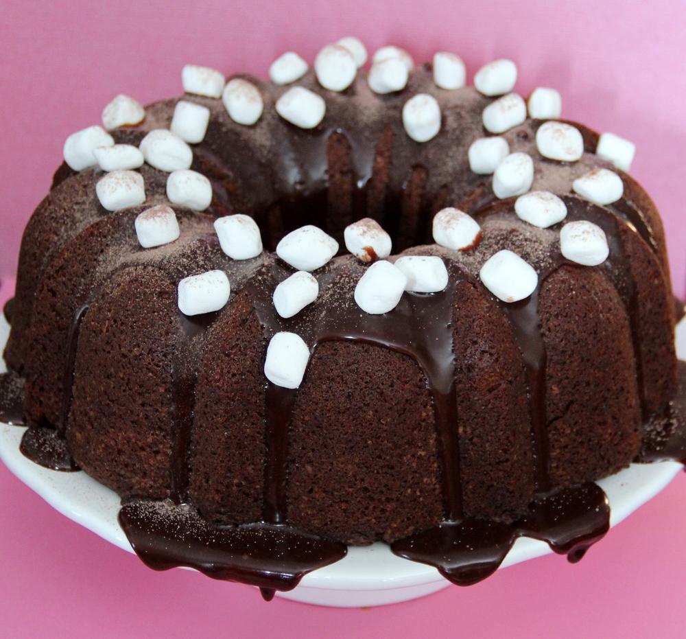 Hot Chocolate Pound Cake : $24
