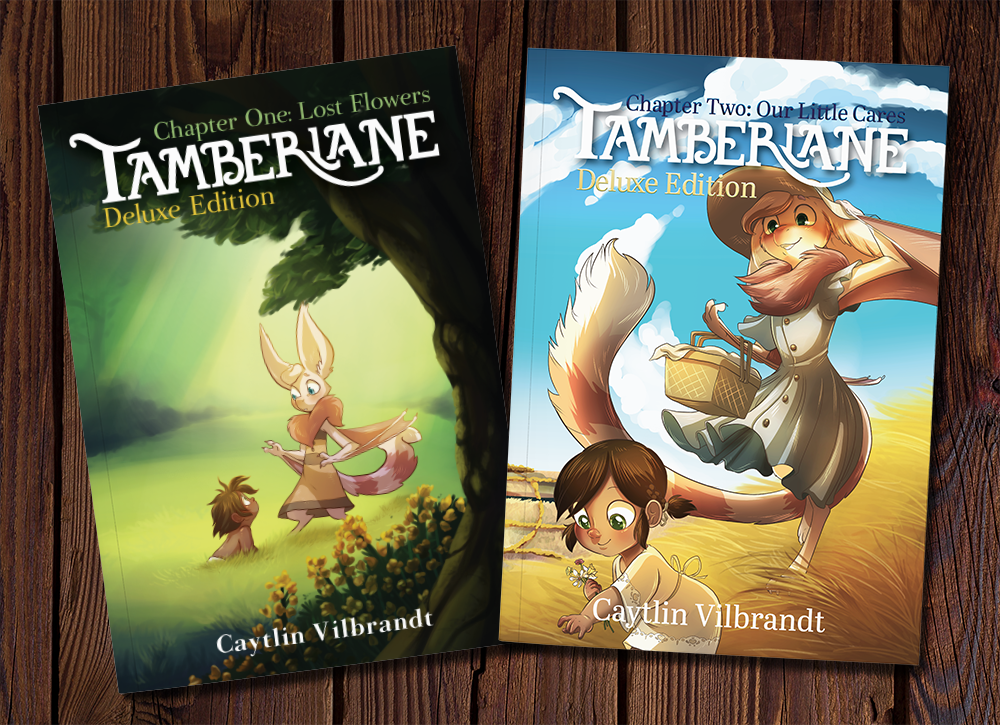Did you miss out on the first book? That's available too! So much concept art and extra stories!