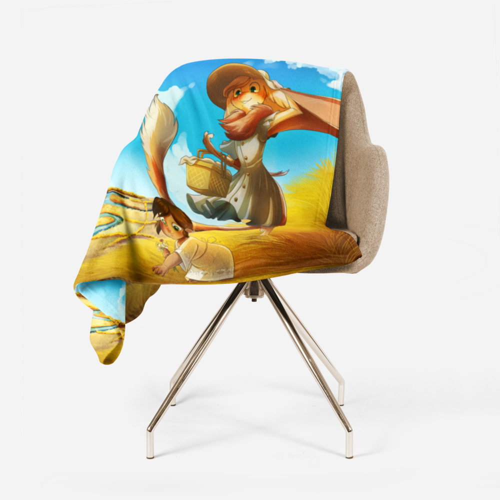 And finally, do you want to cover your body in something warm and soft? Have I got a deal for you! A big ol fleece blanket printed with Tamberlane and Belfry is waiting to hug you!!