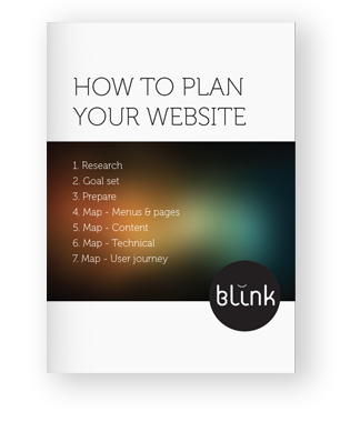 how to plan your website ebook