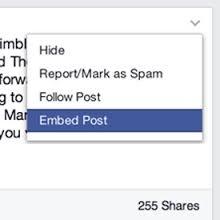 embedded post op facebook