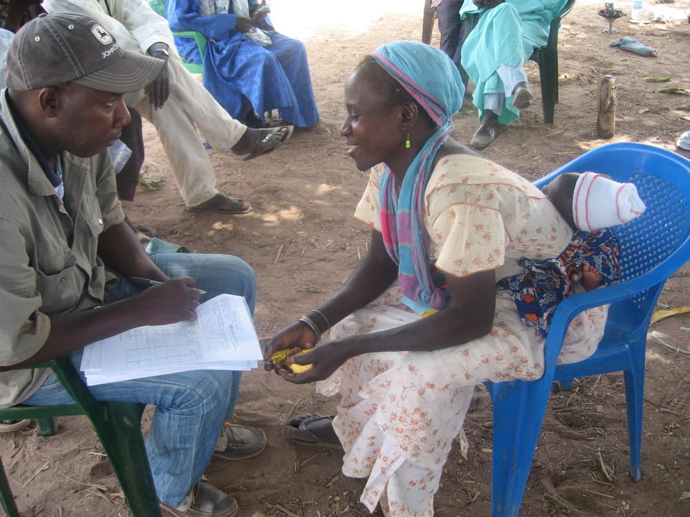 Playing insurance games in Kalbirom, Senegal (HGreatrex, May 2013)