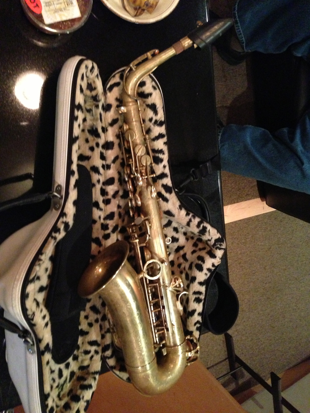 Candy's sax