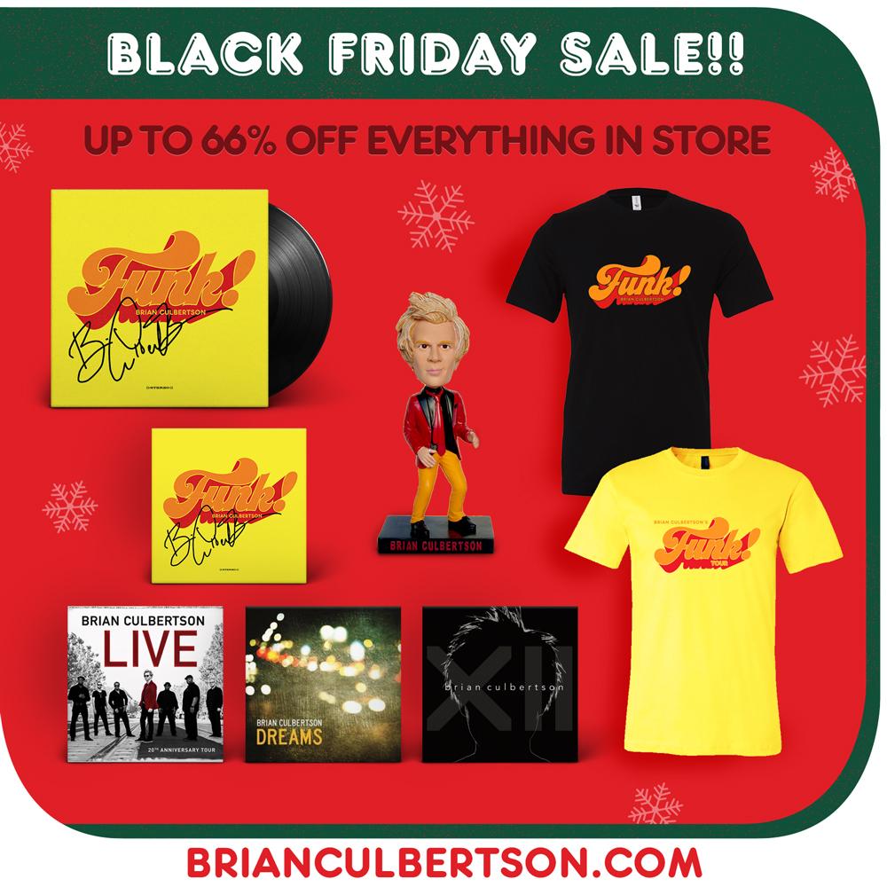 Black Friday Sale Brian Culbertson