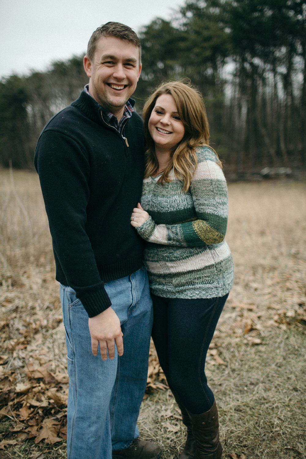jake and krysti dayton ohio engagement photographer sarah rose hocking hills