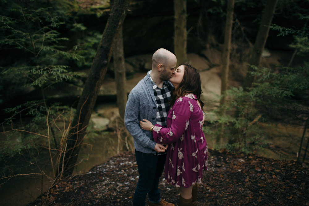 jake and krysti hocking hills ohio wedding photography by sarah rose