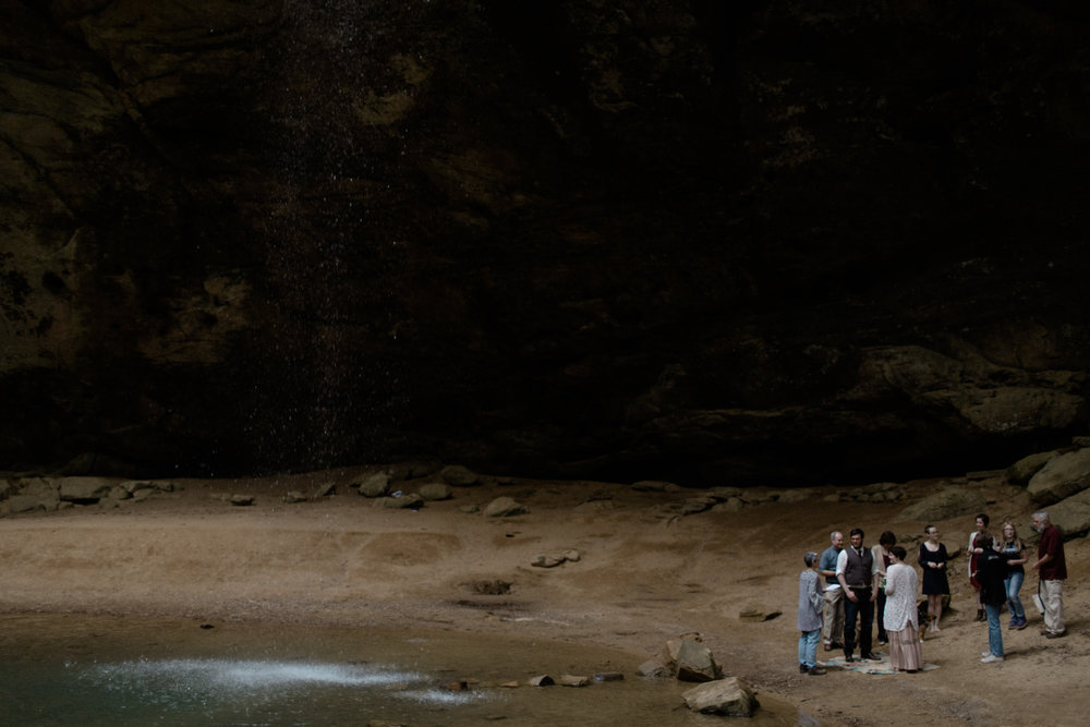 justin brie intimate ohio elopement in hocking hills by sarah rose