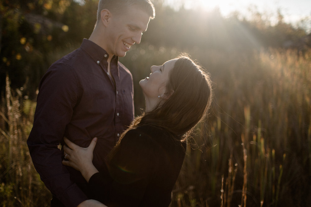 dayton ohio desert inspired engagement photography
