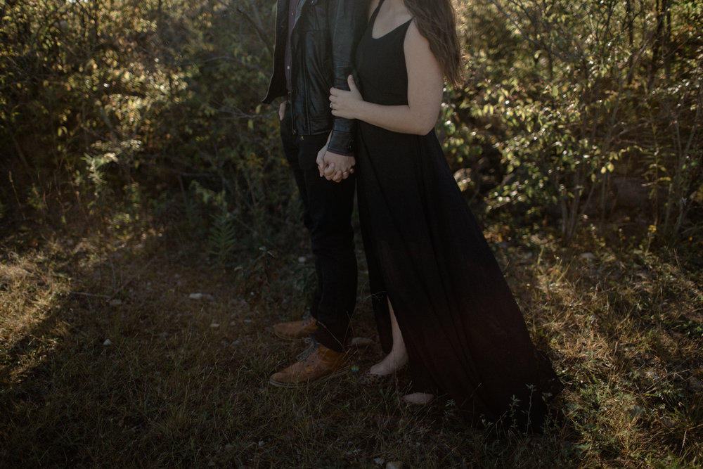 columbus ohio desert inspired engagement photography