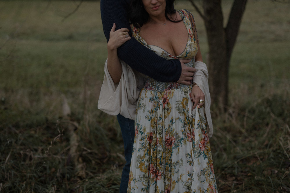 dayton ohio engagement photographer. bohemian floral engagement session. boho style. moody engagement photography. columbus ohio engagement photographer. sarah rose photography. i am sarah rose.