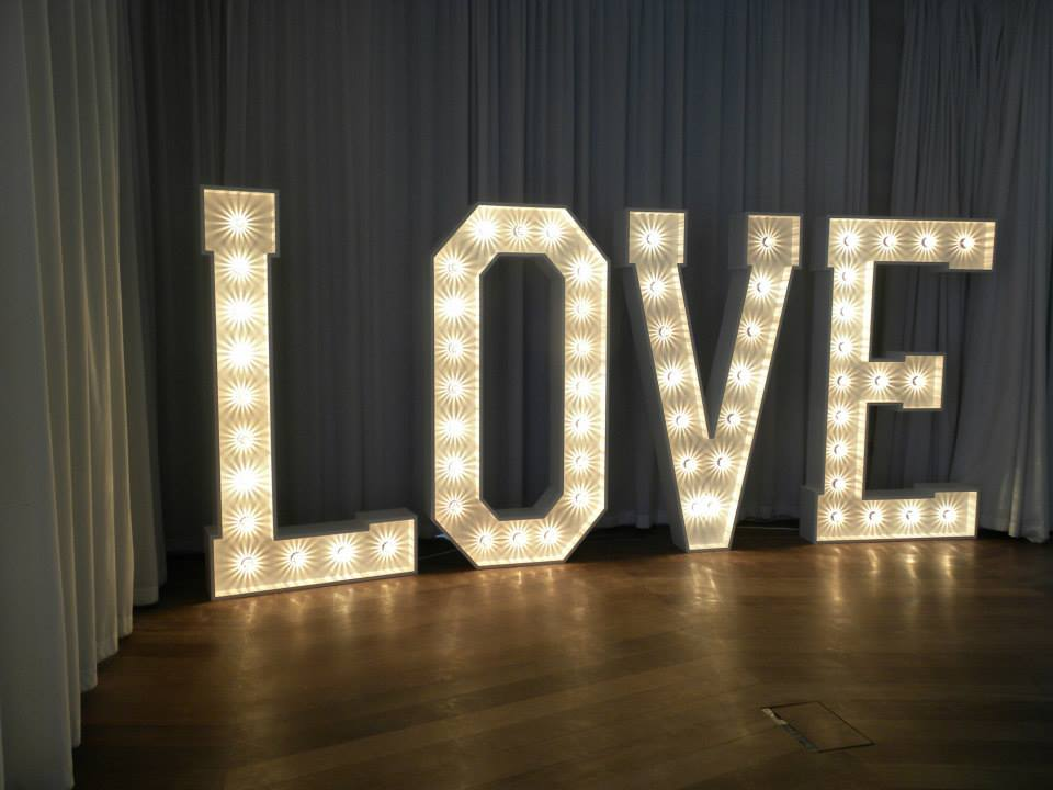 The 'LOVE' Letters at The Midland Hotel