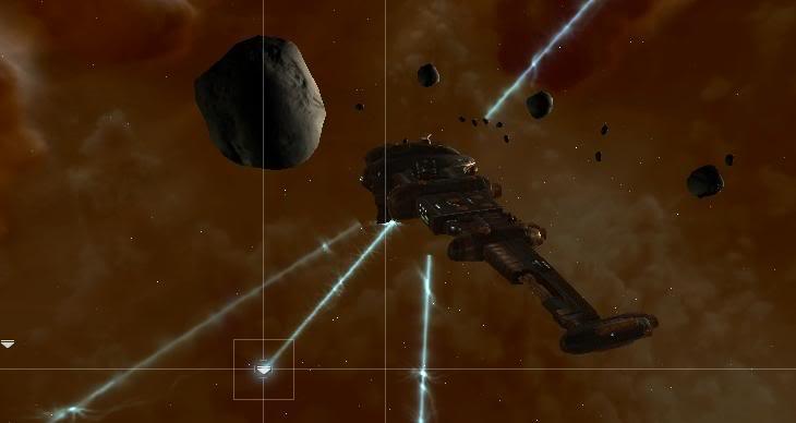 A salvaging Catalyst destroyer