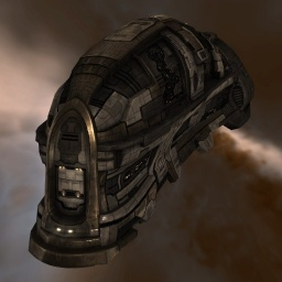 The Amarr Bestower - largest potential cargo capacity of all the Tech I industrial ships