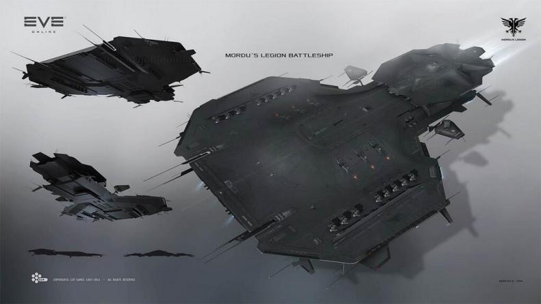 I love the flat, black, stealthy-looking designs of the new Mordu's Legion ships. I must get these for my collection!